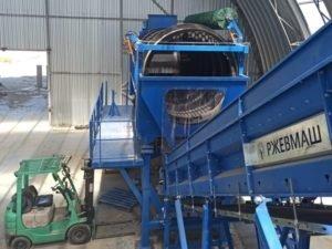 На трубчевской мусоросортировочной станции завершён монтаж оборудования