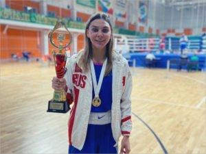 Брянская спортсменка стала чемпионкой Всероссийской Спартакиады молодёжи по боксу