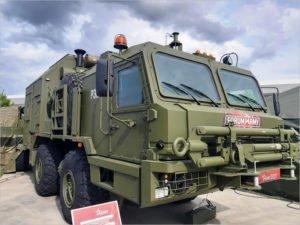 Брянский автозавод представил на Форуме «Армия-2021» «гражданскую» технику для нефтяников