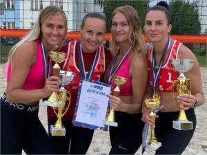 Пляжный волейбол: брянские спортсмены завоевали три медали в общем зачёте чемпионата ЦФО