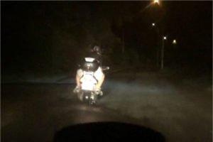 В ночь на 3 августа брянские гаишники устроили погоню за мотоциклистом. Поймали его с подругой