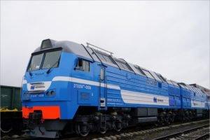 Два тепловоза брянского производства отправлены заказчику в Заполярье