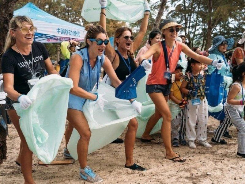 Как проводить олимпиады по уборке мусора