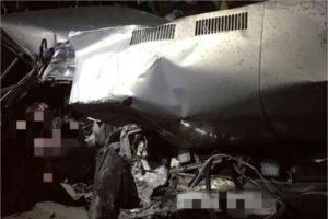 В ночном ДТП на местной брянской дороге погиб водитель. После удара о дерево