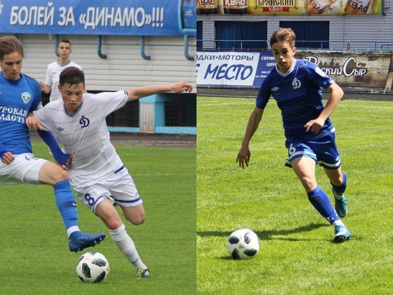 Два игрока брянской динамовской молодёжки вызваны в сборную ЦФО