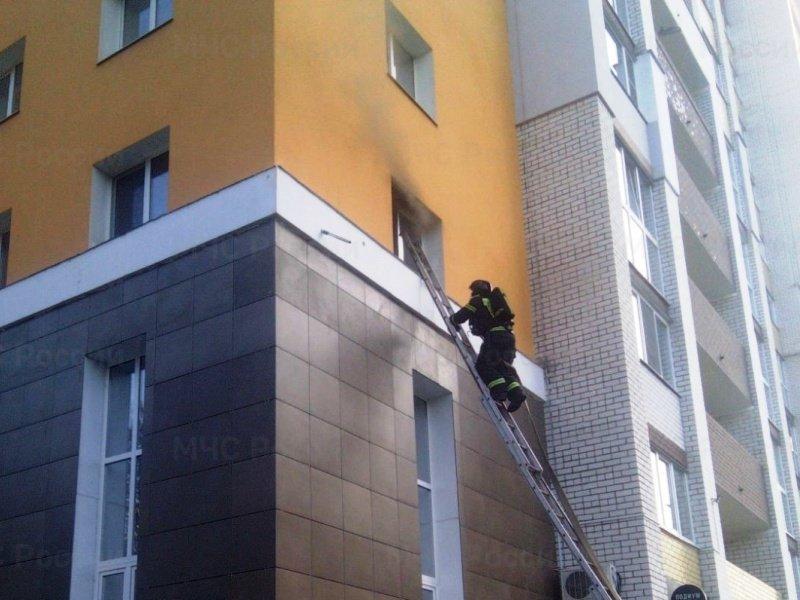 В Брянске горела квартира в жилом комплексе «Академический»