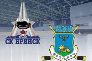 Хоккейный «Брянск» дважды проиграл дома «Белгороду»