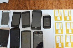 До клинцовской колонии №6 не долетело девять мобильников