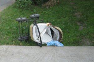 Состояние сбитого в селе под Новозыбковом ребёнка в коляске удовлетворительное – врачи