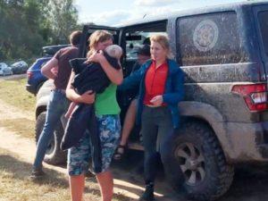 Волонтёры из Брянска четыре дня помогали искать двухлетнюю девочку в Смоленской области