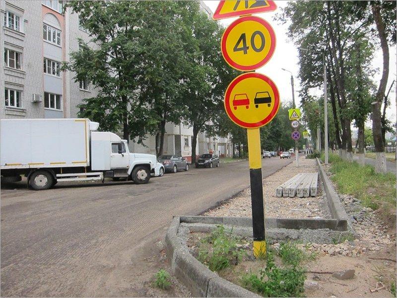 С капитально ремонтируемой улицы Медведева исчезла вся дорожная техника