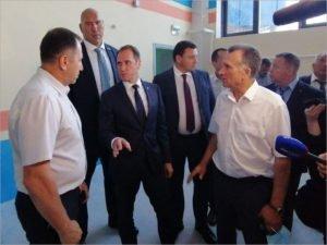 Брянский дворец единоборств проинспектировал замминистра спорта, курирующий подготовку сборных команд России