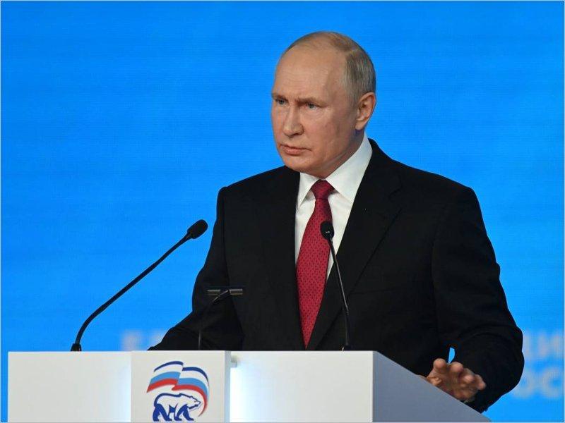 Путин внёс свои предложения в народную программу «ЕР», в неё включены инициативы от жителей и экспертов из всех регионов
