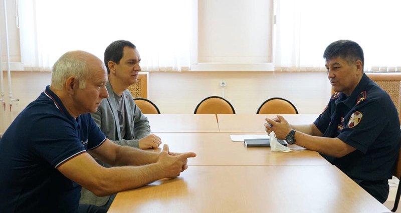 Руководители брянской федерации самбо встретились с руководством регионального управления Росгвардии