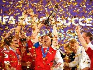 Россия – чемпион мира по футболу. Пляжному