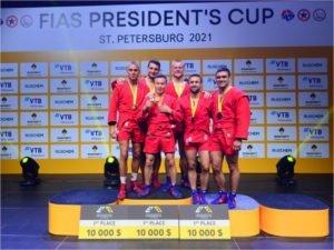 Артём Осипенко завоевал золотую медаль на Кубке президента FIAS