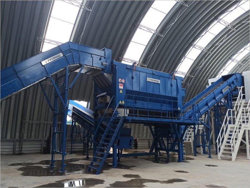 На суражской мусоросортировочной станции произведён «холодный» пуск оборудования