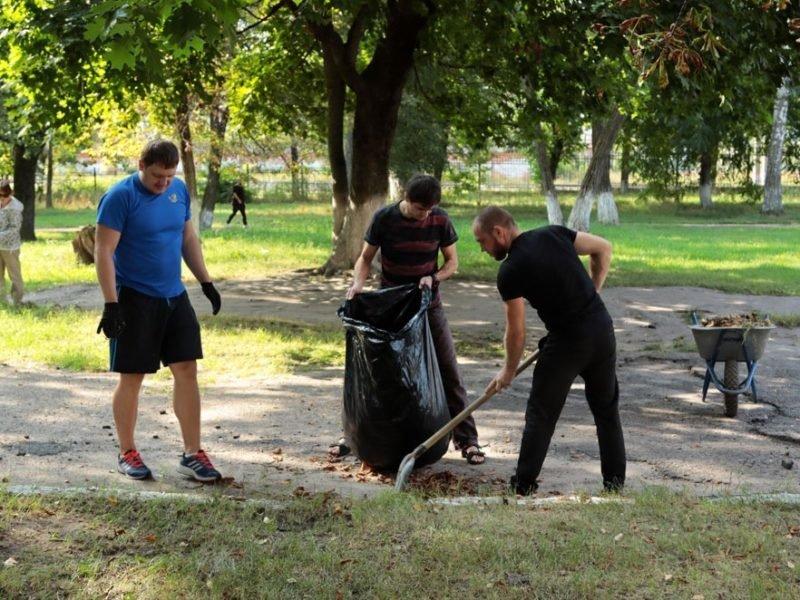 В Брянске в субботнике 21 августа поучаствовал только 1% населения города