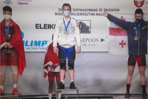 Брянский тяжелоатлет поднялся на подиум первенства Европы