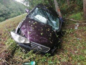 В аварии под Трубчевском пассажир разбил голову