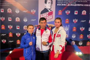 Брянские спортсменки завоевали два золота турнира по боксу имени Иосифа Кобзона