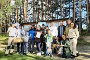 Молодёжь Брянского пиво-солодовенного завода выловила из пруда 2,6 кг на городских соревнованиях по рыбалке