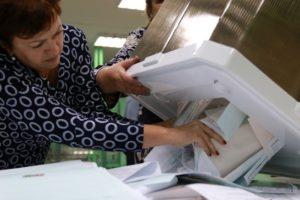 В ЦИК подсчитаны 16% протоколов на думских выборах по партийным спискам