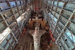 Готовится возвращение космического корабля «Буран» из Казахстана в Россию