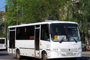 В Брянске скорректируют выходное расписание автобуса №23