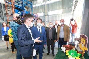 В Жуковке открылась третья за месяц мусоросортировочная станция