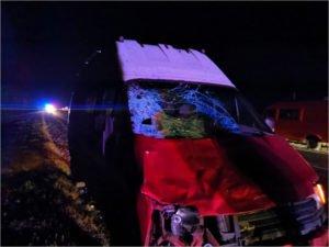 Под Почепом Ford Transit ночью сбил двоих пешеходов. Молодая женщина погибла