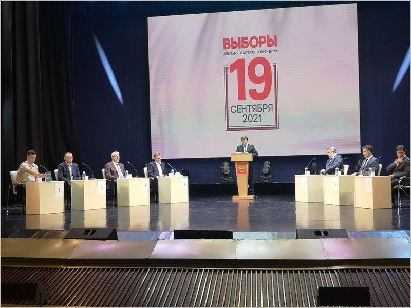 Александр Богомаз лично представлял «Единую Россию» на партийных дебатах на ТВ 13 сентября