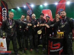 Гранд-финал первого сезона мировой лиги NXL в России выиграла команда с логотипом «Брянскпиво»