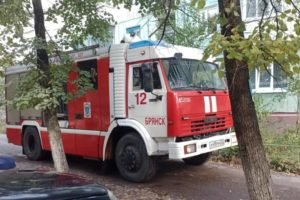 В Брянске горела квартира в пятиэтажке. Пострадавших нет