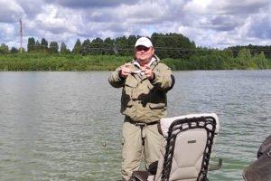 Брянская молодежь на выходных командно половила рыбку