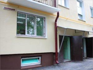 В знаменитом общежитии в Фокино под Брянском сделали ремонт. И открыли для охраны пункт полиции