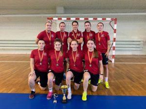 Брянские футболистки стали третьими на межрегиональном турнире по мини-футболу