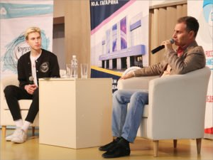 «Классные встречи» в брянском ДДЮТ начались с Александра Кокотова