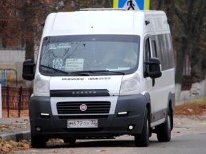 На автобусном маршруте № 109 «Брянск-Переторги» введено новое расписание