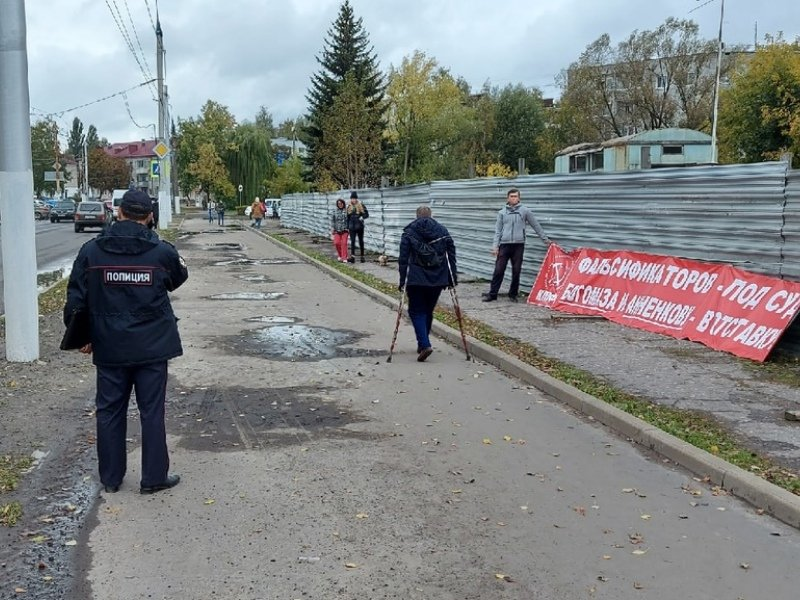 Брянские коммунисты посвятили неделю непризнанию результатов выборов в Госдуму
