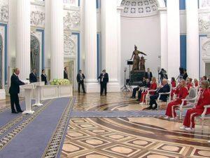 Брянский спортсмен принял участие во встрече президента России с победителями и призёрами Паралимпиады