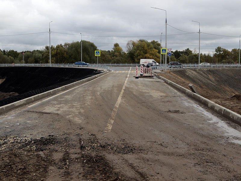 «Не дорога, а съезд»: властям Брянска пришлось разъяснять, что, где и как обрушилось на новой магистрали