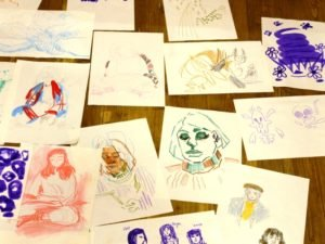 Мастер-класс по скетчингу в Брянске: отказаться от условностей в голове