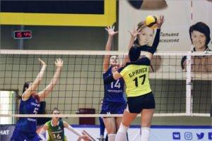 Обновлённый женский волейбольный «Брянск» стартует в высшей лиге «Б» дома