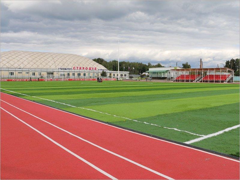 В Стародубе близится к открытию реконструированный стадион «Заря»