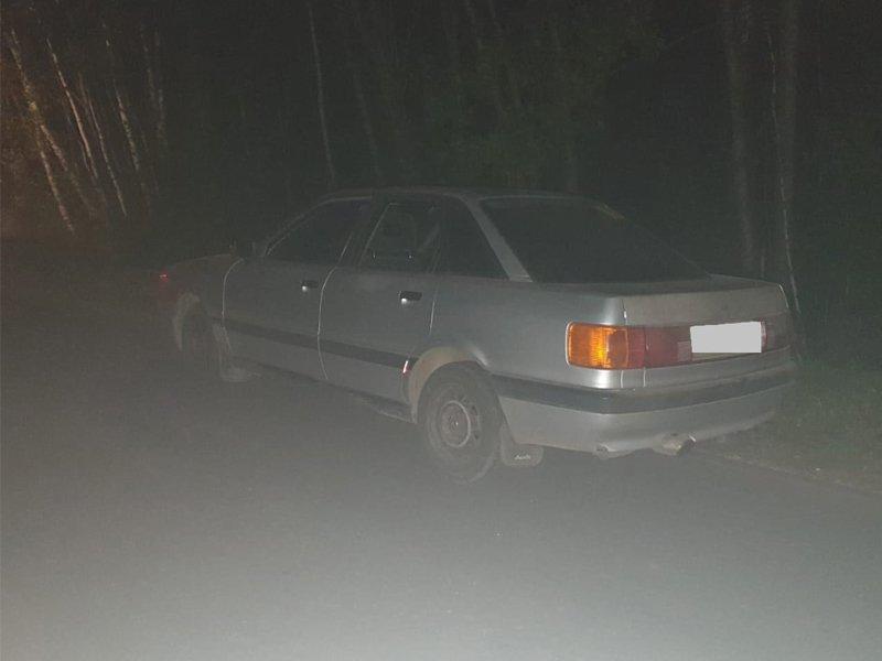 В Климовском районе полиция сняла с Audi пьяную малолетку
