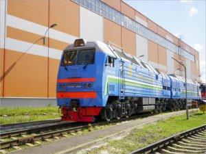 Два тепловоза брянского производства отправлены в Узбекистан