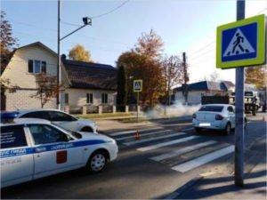 «Солнечный удар» в Брянске: ослеплённый водитель покалечил женщину-пешехода