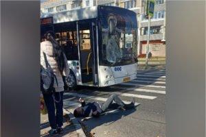 На проспекте Московском в Брянске пешеход попал под автобус