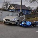 В брянском райцентре мотоциклист погиб после столкновения с легковушкой